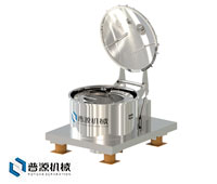 PD系列吊袋上卸料离心机(PD Series hanging bag top discharge centrifuge)