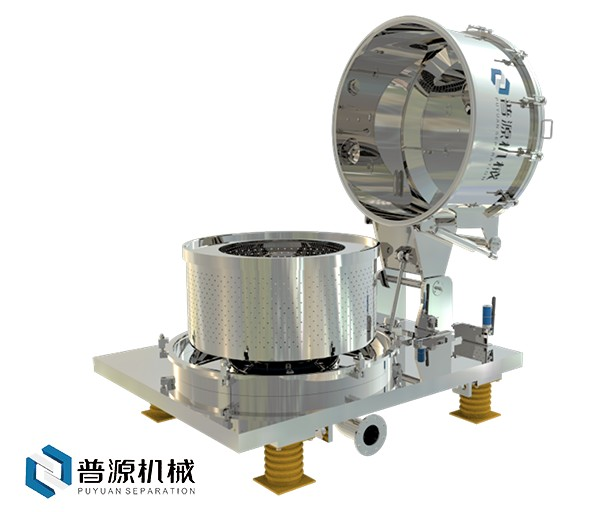 PLBF系列平板直联密闭全翻壳离心机(PLBF Series direct-connected driving shell-reversible centrifuge)